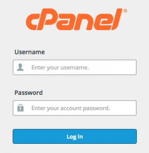 Vodien Login to your cPanel