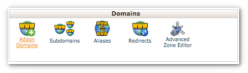 addon domain name