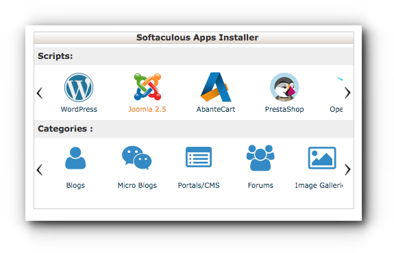 softaculous-joomla
