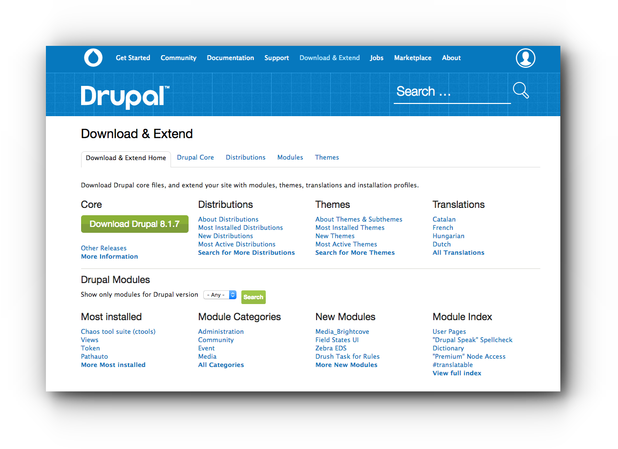 drupal-download
