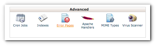 error-pages-cpanel