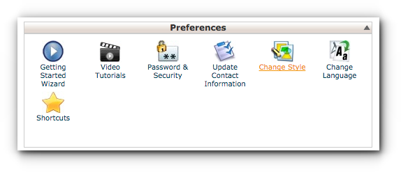 change-style-cpanel-vps