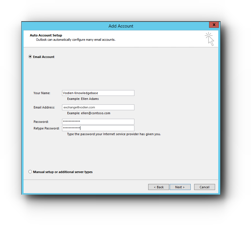 How to set up Microsoft Exchange in Outlook 2016? – Knowledge Base