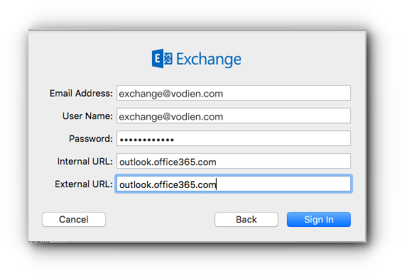 how to set up microsoft exchange in mac mail knowledge base