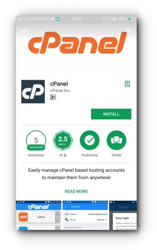 How to set up cPanel app on Android – Knowledge Base