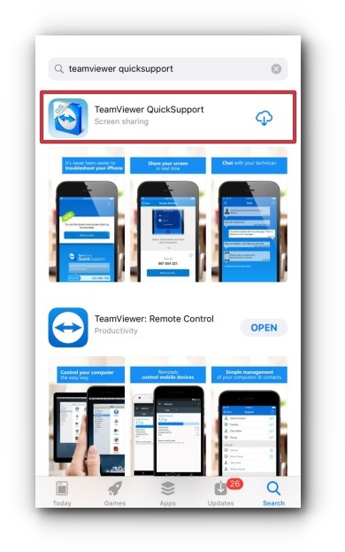 TeamViewer QuickSupport App for Mobile Device – Knowledge Base