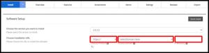 Softaculous Joomla URL Details