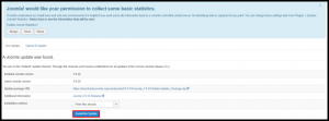 Install the Update Button in Joomla Administration Page