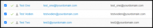Select Multiple Mailboxes in Exchange Manager