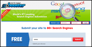 Search Booster Page Login Fields