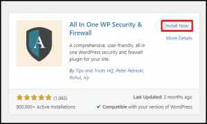 Install All in One WP Button