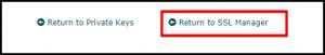 Return to SSL Manager Link