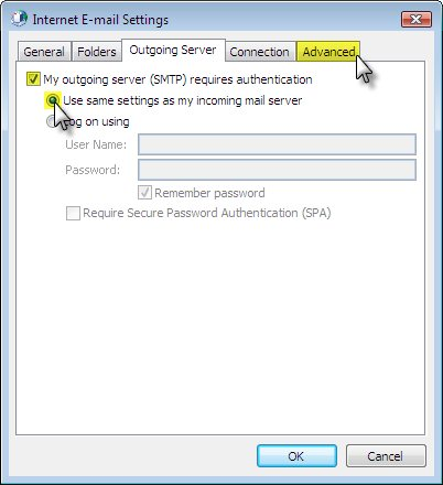 How do I enable SMTP Authentication for email client